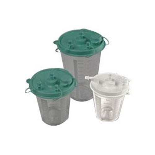 Disposable suction canister, 800 cc