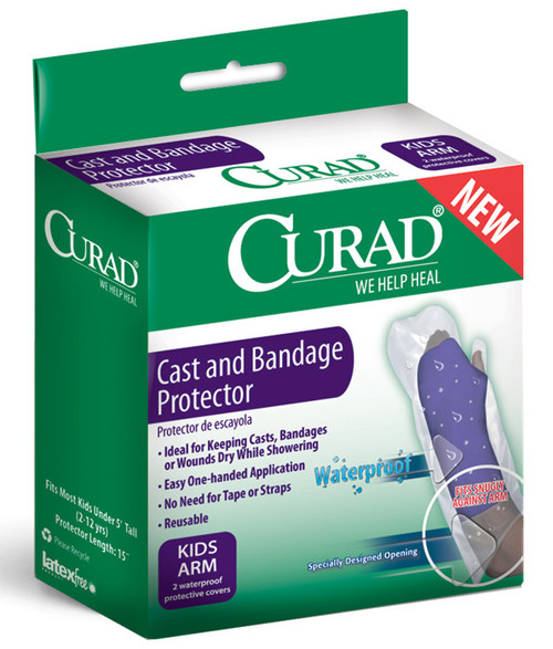 CURAD Cast and Bandage Protector, Kids Arm