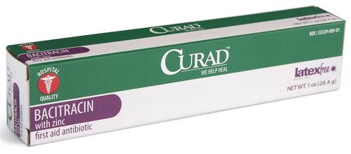 CURAD Bacitracin Ointment with Zinc, 1 OZ