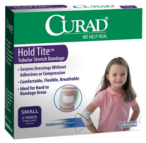 CURAD Hold Tite Tubular Stretch Small Bandages