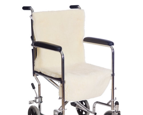 Sheepette Wheelchair Seat & Back