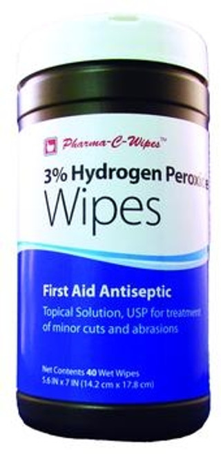 3% Hydrogen Peroxide Wipes