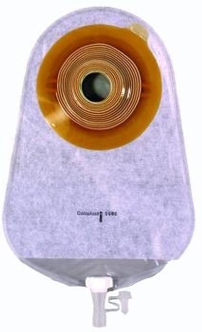 Assura One-Piece Convex, Standard Wear Urostomy Pouch with Belt Tabs