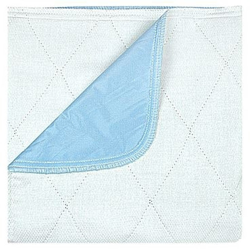 Underpad 18 X 24 Inch Reusable Polyester / Rayon Heavy Absorbency