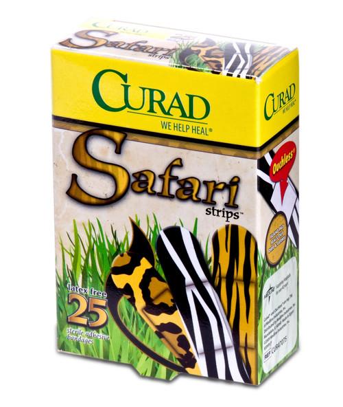 CURAD Safari Strips Bandages