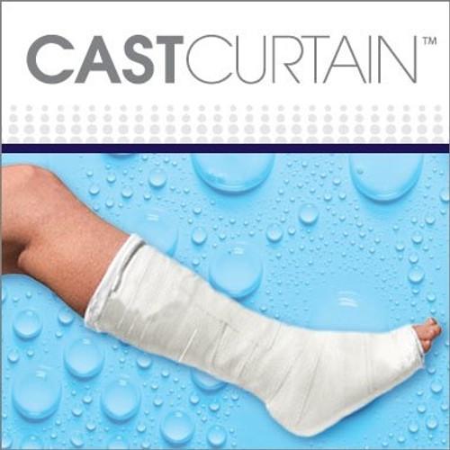 CAST CURTAIN - Leg / Left Showerhead