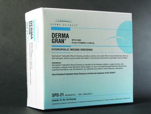 Dermagran-B Hydrophilic Wound Dressing