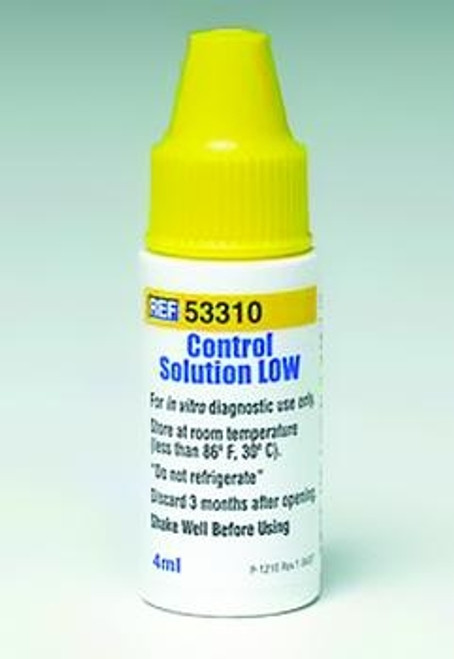 prodigy glucose control solution low
