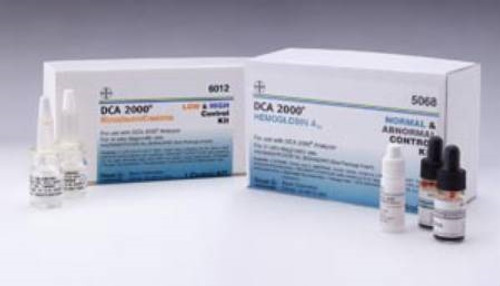 Hemoglobin A1c Control Solution Kit, Normal and Abnormal