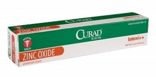 CURAD Zinc Oxide Anorectal Cream, 2 OZ