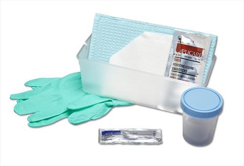 No-Catheter Urethral Tray - PVP