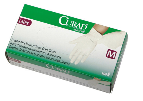 Curad PF Latex Exam Gloves