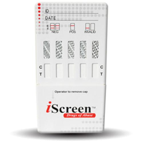 iScreen One Step Drug Card