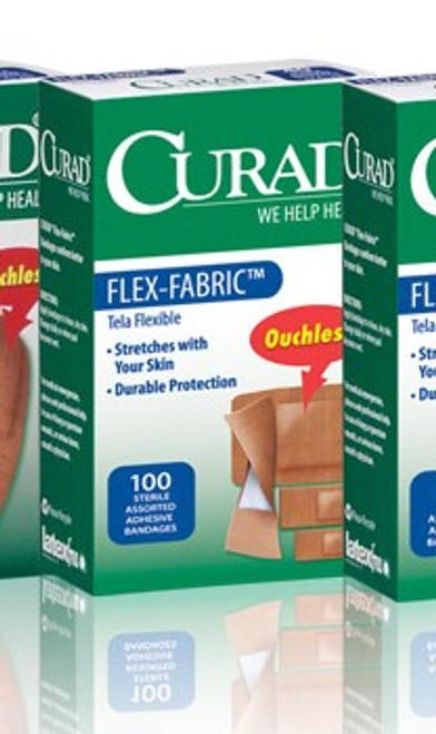 CURAD Assorted Flex-Fabric Bandages