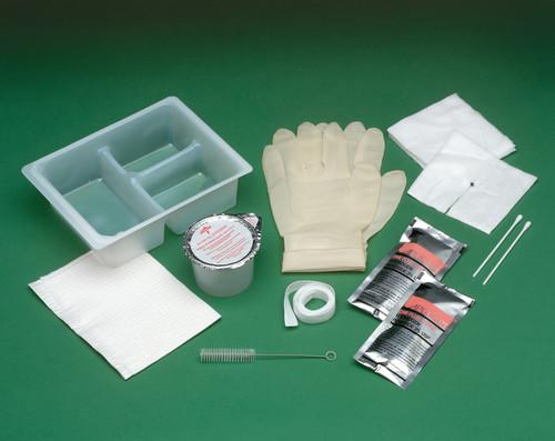 Tracheostomy Care Tray with Peroxide & Saline