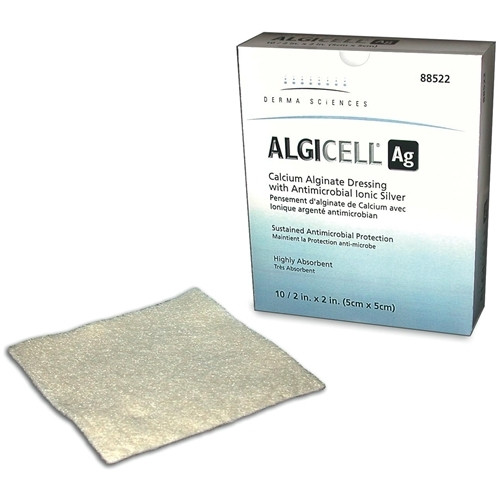 Algicell Ag Calcium Alginate Silver Wound Dressing