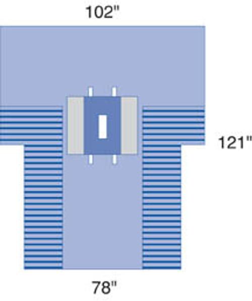 Proxima Laparotomy Drape w/ Pouches