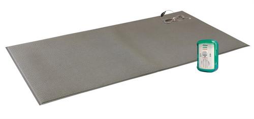 "FM-07 - 24""x48"" (gray) floor mat w/SafeTRelease Cord - 1 year warranty"