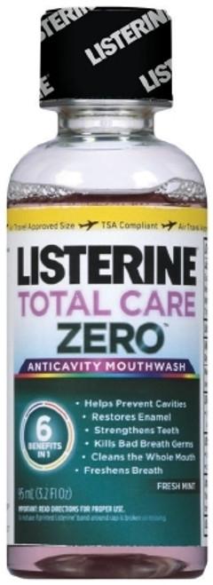 Listerine Total Care Zero Mouthwash Fresh Mint Flavor