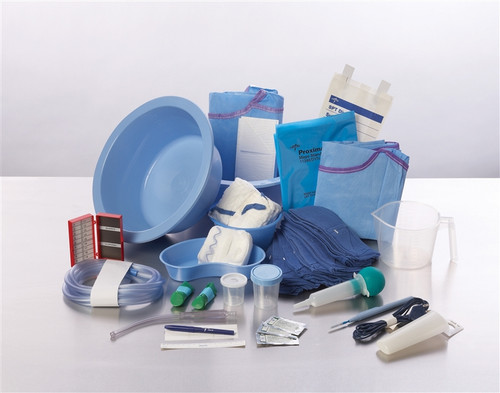 Sterile Major Double Basin Surgical Set Up Tray I
