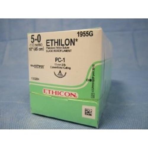 Ethilon Non-Absorbable Sutures - Size: 6-0