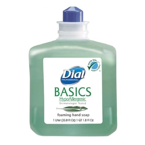 Dial Basics Foaming Soap 1 Liter Dispenser Refill Bottle Honeysuckle Scent