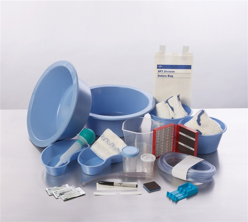 Sure Set Double Basin Surgical Trays