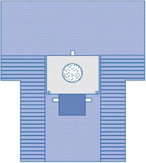 Cesarean Section Surgical Drape with Pouch