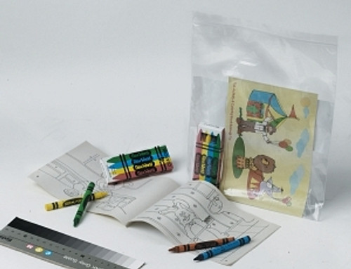 Pediatric Coloring Book and Crayons