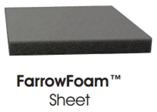 FarrowFoam Sheet Gray 4mm x 0.5m x 0.5m