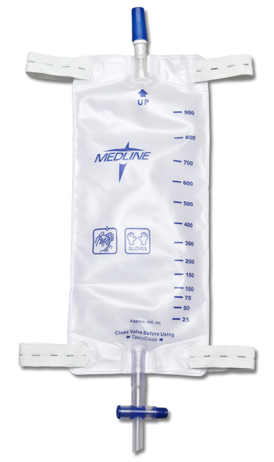 Leg Bags with Slide Tap