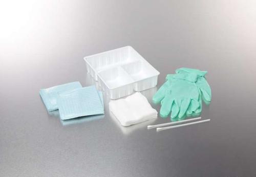 Dry Skin Scrub Tray with Gauze