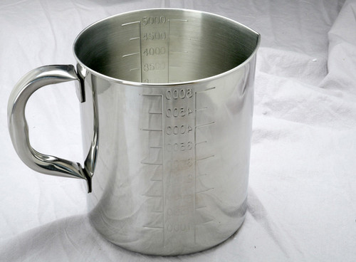 Stainless Steel Graduated Measure Pitcher
