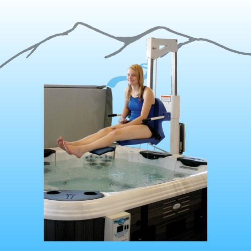The Spa Lift with Anchor - 400lb Capacity