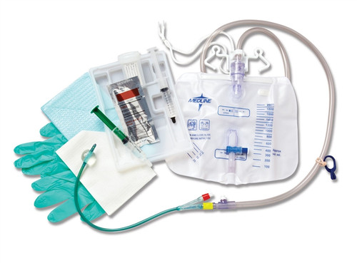 Silvertouch Closed System Foley Catheter Trays