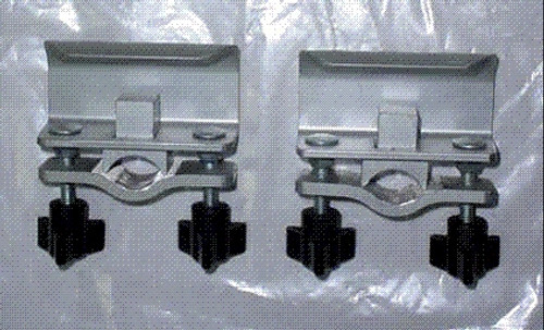 Walker Clamp Assembly, Metal