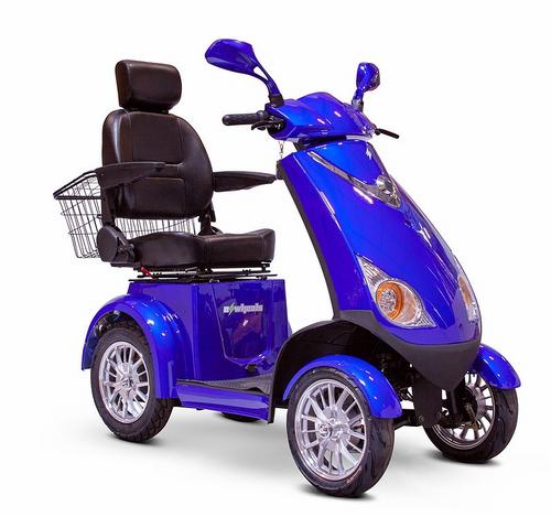 EW-72 4-Wheel Mobility Scooter by EWheels