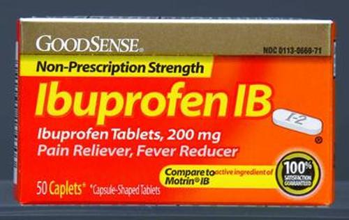 Ibuprofen IB Caplets 200mg