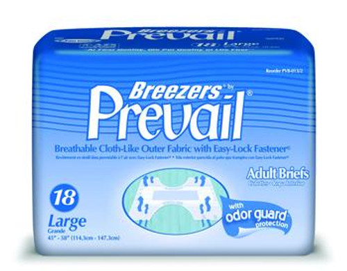 Breezers by Prevail, Adult Briefs - Large & X-Large