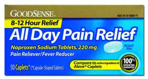 Naproxen Pain Relief 220mg 50 Count