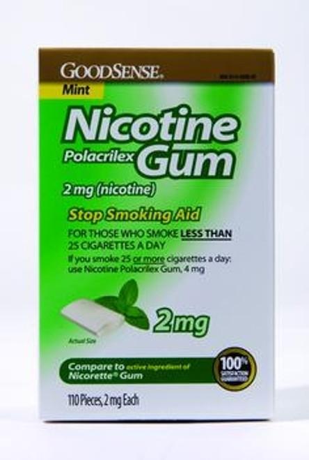 good sense nicotine gum