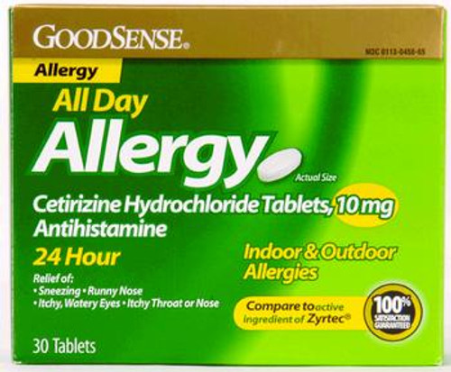 All Day Allergy Relief Cetirizine