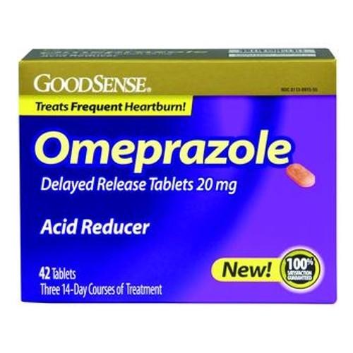 good sense omeprazole acid reducer