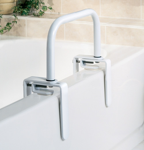 Bathtub Safety Rail, White