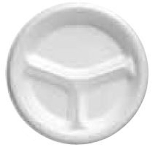Partitioned Dinner Plate Genpak