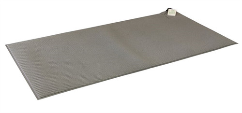 """CordLess Floor Mat 24""""x48"""" (gray) - 1 year warranty (use with the TL-2100G, GM-01E, 433-CMU or 433-EC)"""