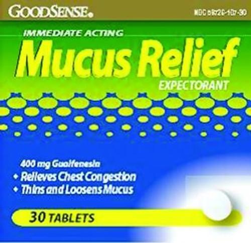 good sense mucus relief