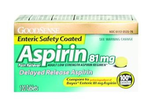 good sense aspirin