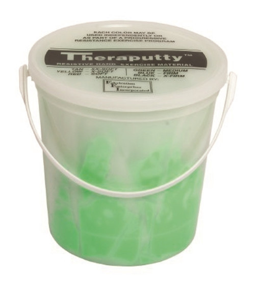 Therapy Putty CanDo Antimicrobial Theraputty Medium