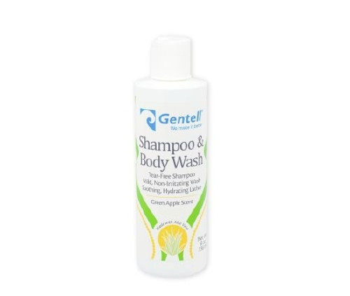 Shampoo and Body Wash Gentell Bottle Unscented